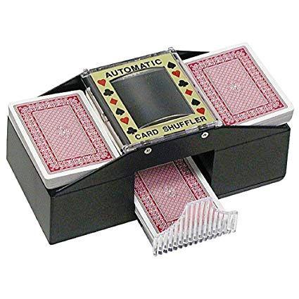 automatic card shuffler untuk ibu minat permainan terup