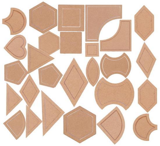 set patchwork template hadiah untuk ibu