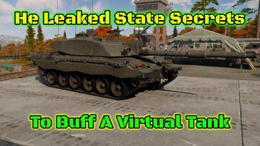 gamer posted forum the secret blueprints British tank