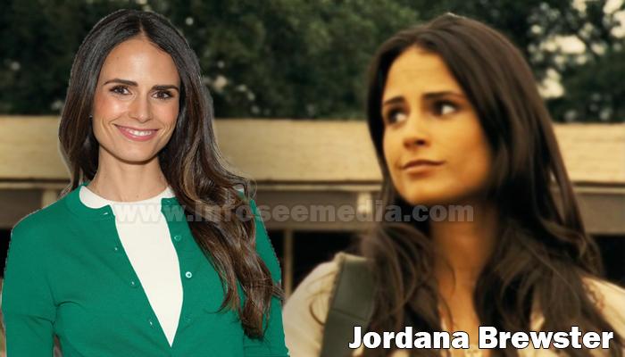 Jordana Brewster height weight age