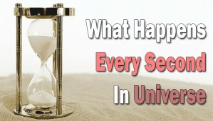 What happens in every second
