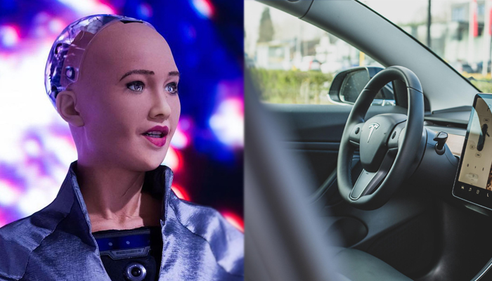 Sopjia Robot and driverless car
