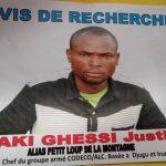 Ituri : Un avis de recherche lancé par l'armée contre un Chef rebelle
