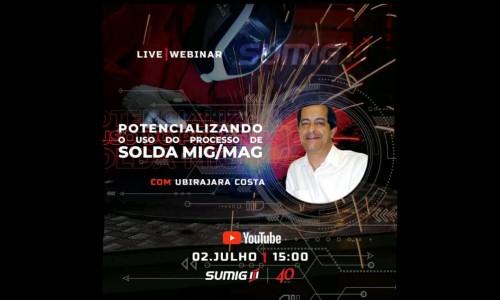 Live – Potencializando o uso do processo de Solda MIG / MAG