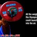 Rio Olympics weight lifting