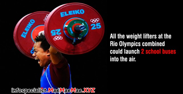 Rio Olympics weight lifting