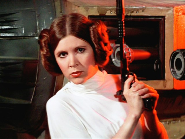 carrie fisher princess leia dead