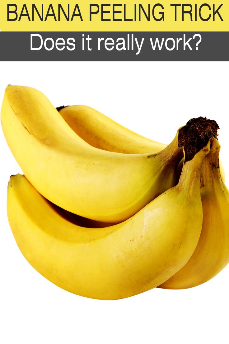 banana peeling trick
