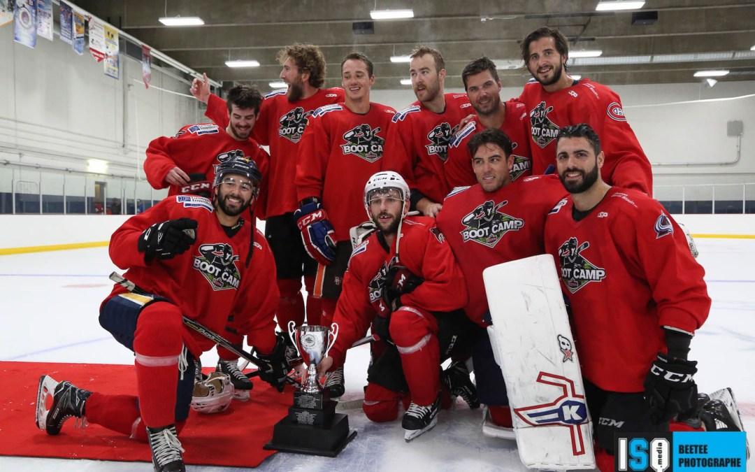 Et encore du hockey! Le Boot Camp Sleeman continue d'en donner aux amateurs de Québec