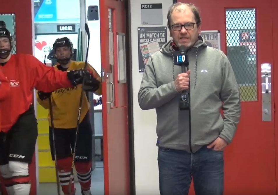 Notre animateur Dominique de Premières Loges Sports reçoit Pascal Dufresne entraîneur de l'équipe de hockey féminine, les Titans du Cégep de Limoilou!