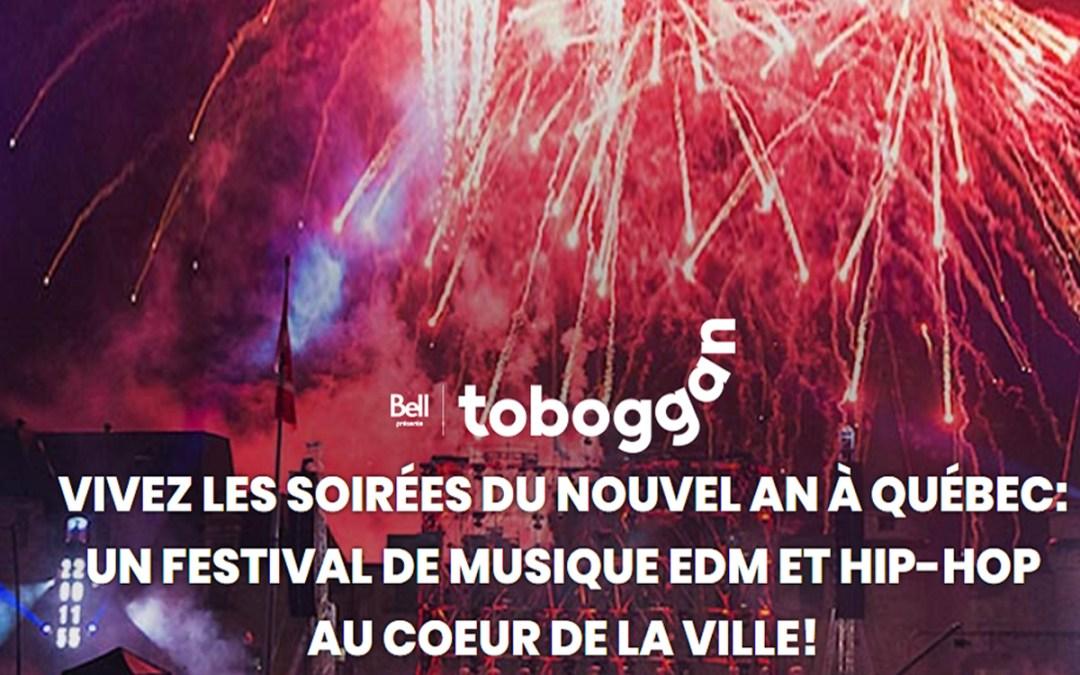 3E dévoile la nouvelle mouture des célébrations de fin d'année à Québec : Toboggan, Soirées Nouvel An