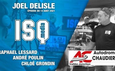 Joël Delisle nous présente l'envers du décor de l'autodrome Chaudière