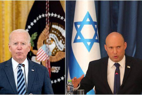 Biden et le ministre israélien