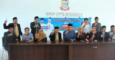 Angota Dewan Kampanye di Gedung DPRD Makassar