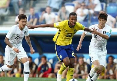 Gol Penalti Menangkan Swedia Atas Korsel 1-0