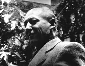 Benjamin Péret, Mexico, années quarante, photo. Gunther Gerszo
