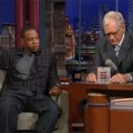 Jay-Z and David Letterman