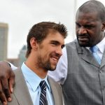 Shaq and Michael Phelps