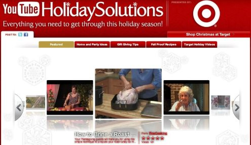 YouTube | Target Holiday Channel