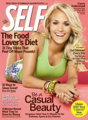 Carrie Underwood Self Magazine