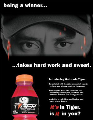 Tiger Gatorade