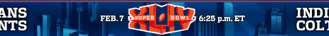 SuperBowl XLIV - Colts vs. Saints 1