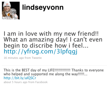 Message From Lindsey Vonn 2