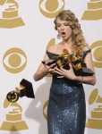 Taylor Drops and Breaks Her Grammy (on accident) 4