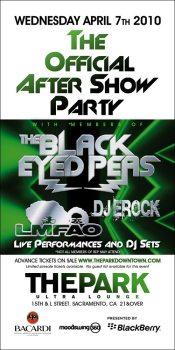 Black Eyed Peas World Tour 2