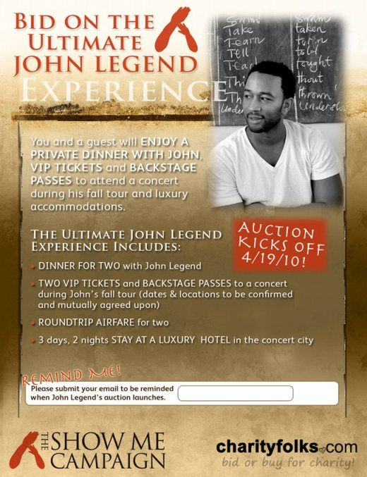 Hang Out With John Legend 2