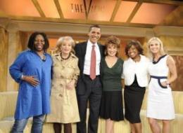 Photo of Obama Coming To The View