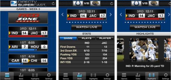 DirecTV To Live Stream NFL 2