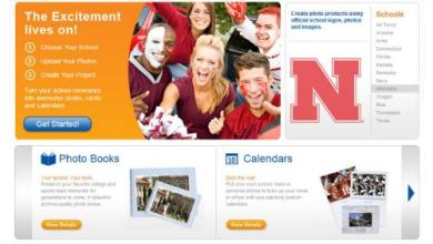 Photo of SnapShotU! Photo Product Website Targets Collegiate Sports Fan