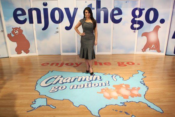 "Kardashian and Charmin ""Enjoy The Go"" 1"