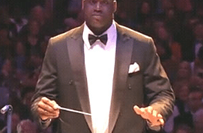 Shaq Conducts Boston Pops 1