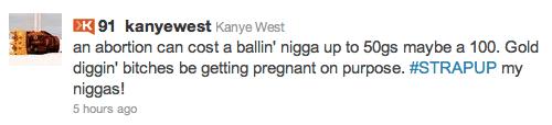 Kanye's Tweet May Get Him In Trouble 1