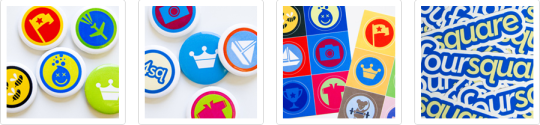 Get Your Foursquare Swag 2