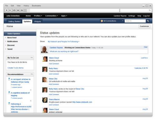 IBM Gets Into Social Media Collaboration 1