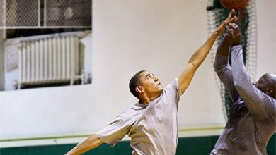 Photo of President Obama: Basketball Coach 'In Chief'