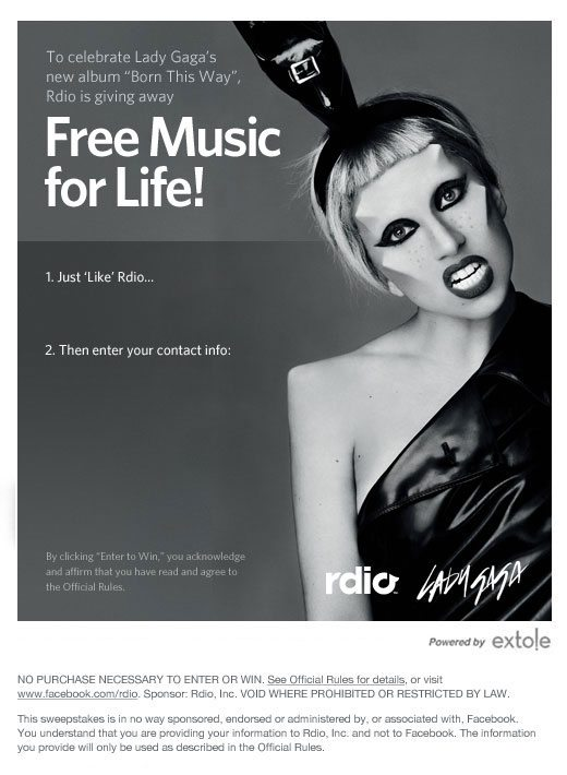 Free Music For Life From Rdio 1