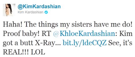 Kim Kardashian Says It's '100% Real' 1
