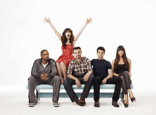 "Falling for Fox's ""New Girl"" 1"