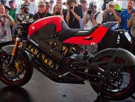 Brammo Empulse Prototype Electric Motorcycle