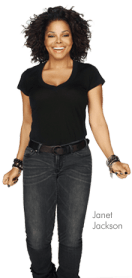 Janet Jackson: The New Face of Nutrisystem 1