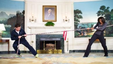 Photo of Fallon vs. Obama