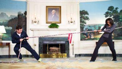 Photo of Fallon vs. Obama