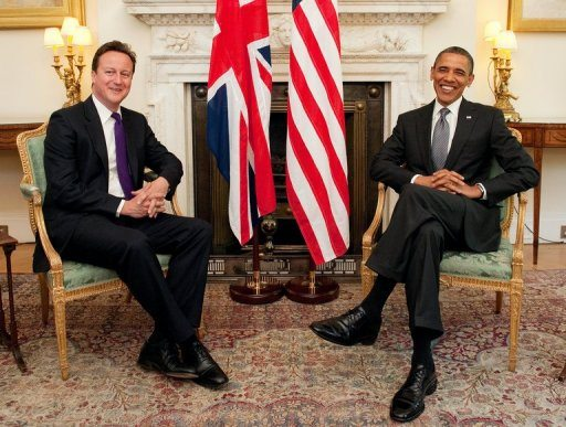 Photo of Obama, Cameron to watch March Madness begin
