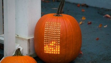 Photo of Pumpktris: Play Tetris on a Pumpkin