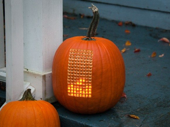 Pumpktris: Play Tetris on a Pumpkin 1