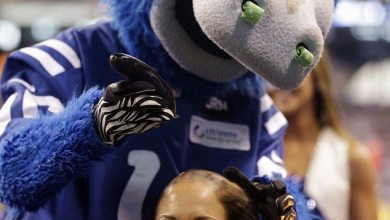 Photo of Colts Cheerleaders – #CHUCKSTRONG